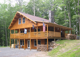 About Us Log Cabin Home For Rent In Woodstock Vermont